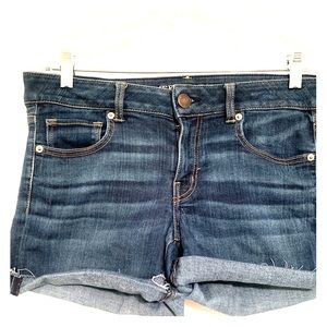 Dark Wash American Eagle Shorts
